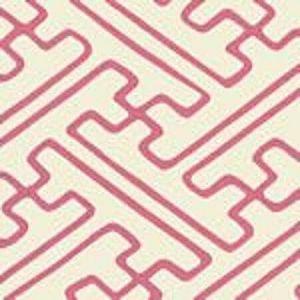AC207-2123 SAYA GATA Pink Lines on Tint Quadrille Fabric