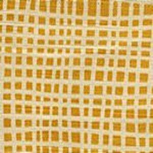 AC403-13 CRISS CROSS Inca Gold Quadrille Fabric