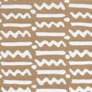 AC407-06 JAYBEE REVERSE New Camel on Oyster Quadrille Fabric