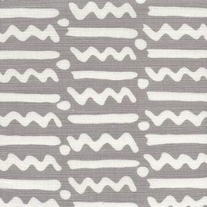 AC407-07TLC JAYBEE REVERSE Medium Grey on Tint Quadrille Fabric