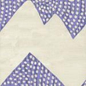 AC720-01 MOJAVE ZIG ZAG Periwinkle on Tint Quadrille Fabric
