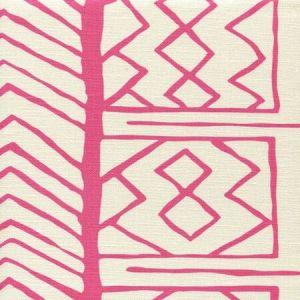 AC811-06 ARUBA II Pink on Tint Quadrille Fabric