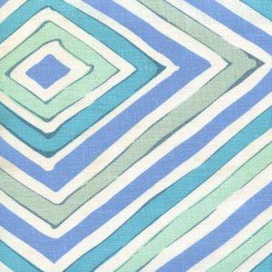 AC830-01W SILVIO Blue Gray Turquoise on Tint Quadrille Fabric