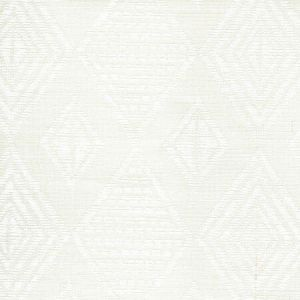 AC850-00 SAFARI EMBROIDERY White on Tint Quadrille Fabric