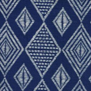 AC850-02-INCA SAFARI EMBROIDERY Inca Gold on Tint Quadrille Fabric