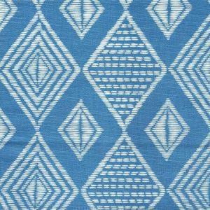 AC855-05 SAFARI French Blue on Tint Quadrille Fabric