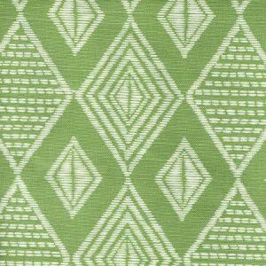 AC855-06 SAFARI Jungle Green on Tint Quadrille Fabric