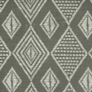 AC855-07 SAFARI Medium Gray on Tint Quadrille Fabric