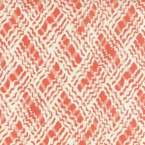 AC860-06 BAHA II Orange on Tint Quadrille Fabric