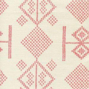 AC890-01 VACANCES Melon on Tint Quadrille Fabric
