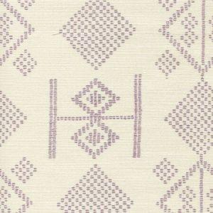 AC890-04 VACANCES Lilac on Tint Quadrille Fabric