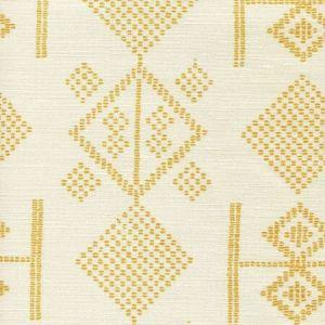 AC890-12 VACANCES Inca Gold on Tint Quadrille Fabric