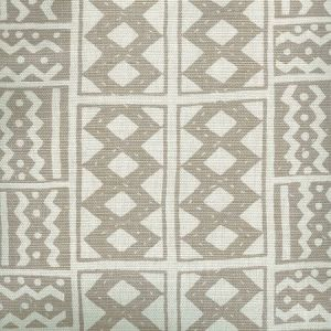 AC930-10 TIE DYE Grey Quadrille Fabric