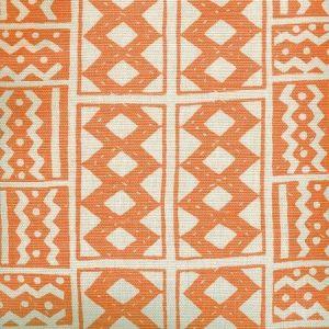 AC930-11 TIE DYE Orange Quadrille Fabric