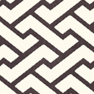 6340-09WP AGA Brown On Tint Quadrille Wallpaper