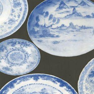 AMW10030-521 CARGO Blue Grey Kravet Wallpaper