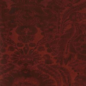 AMW10049-9 KEW Red Kravet Wallpaper