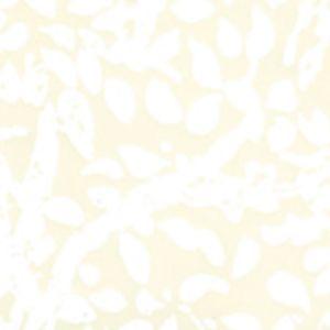 2030-01WP ARBRE DE MATISSE White On Off White Quadrille Wallpaper