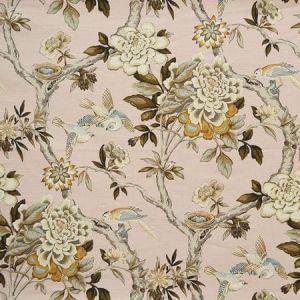 BACUZZI Blush Magnolia Fabric