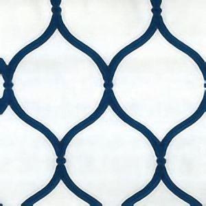 BAMBI White Navy Norbar Fabric