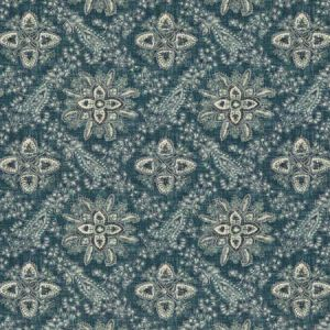 BP10836-1 CASHMIRA Blue GP & J Baker Fabric