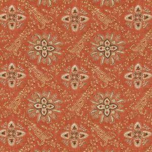 BP10836-2 CASHMIRA Red GP & J Baker Fabric
