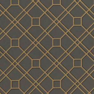 BW45071-7 LANGDALE TRELLIS Charcoal GP & J Baker Wallpaper