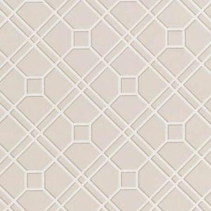 BW45071-8 LANGDALE TRELLIS Linen GP & J Baker Wallpaper