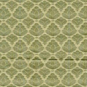 CL 0010 26714A RONDO FR Jade Ivory Scalamandre Fabric