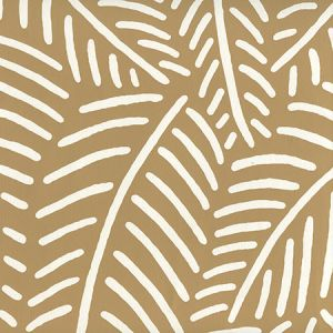 CP1025-05 SAUVAGE REVERSE Camel Ii On Almost White Quadrille Wallpaper
