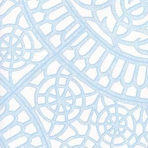 CP1030W-01 CAMELOT Light Blue On White Quadrille Wallpaper