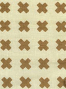 4130-10 CROSS CHECK Camel II on Tint Quadrille Fabric