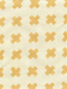 4130-08 CROSS CHECK Inca Gold on Tint Quadrille Fabric