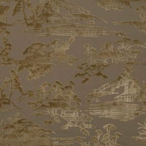 DG-10182-008 SANSUI Zen Taupe Donghia Fabric