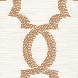 303700F-05 EL CID Camel on Light Tint Quadrille Fabric
