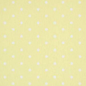 F0063/14 DOTTY Yellow Clarke & Clarke Fabric