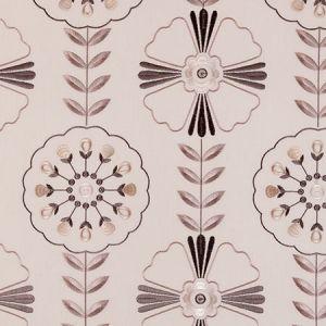 F0376/01 MANDANA Natural Clarke & Clarke Fabric