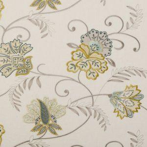 F0379/03 BUKHARA Citrus Clarke & Clarke Fabric