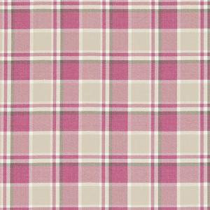 F0596/05 BOWLAND Raspberry Clarke & Clarke Fabric