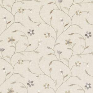 F0599/04 MELLOR Natural Clarke & Clarke Fabric