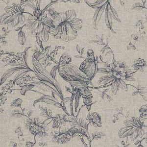 F0626/02 KELLIE Denim Clarke & Clarke Fabric