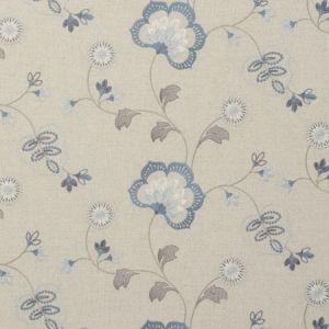 F0735/02 CHATSWORTH Chambray Clarke & Clarke Fabric