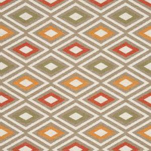 F0808/03 CHEROKEE Earth Clarke & Clarke Fabric