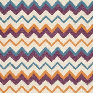 F0809/01 CHOOLI Capri Plum Clarke & Clarke Fabric