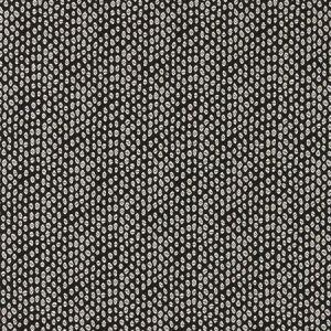 F0888/01 BW1015 Black White Clarke & Clarke Fabric
