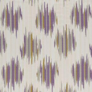 F0929/05 DILBAR Violet Clarke & Clarke Fabric