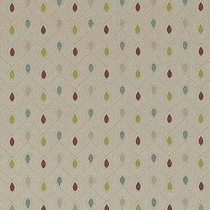 HEALEY Raspberry Duckegg Clarke & Clarke Fabric