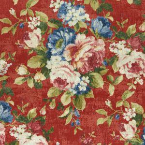 F1002/04 EMELINE Rouge Clarke & Clarke Fabric