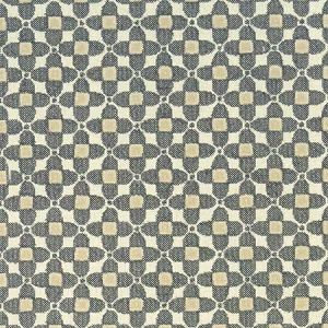 F1016/01 LAVERNE Charcoal Clarke & Clarke Fabric