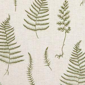 F1092/03 LORELLE Natural Forest Clarke & Clarke Fabric